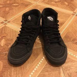 Black Vans High Tops